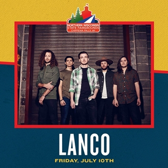 LANCO Northern Wisconsin State Fair July 10th