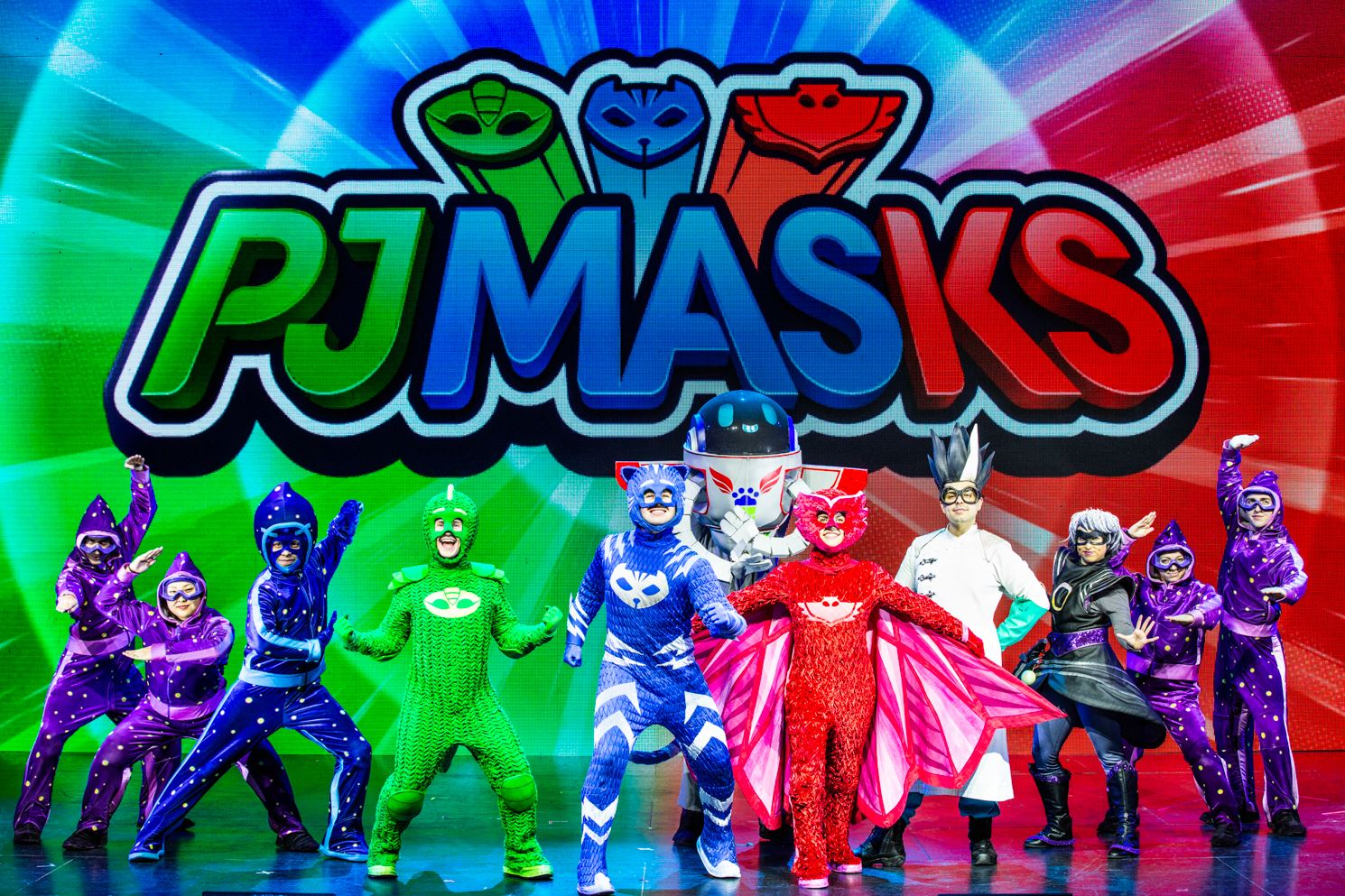 Pj Masks Live Save The Day
