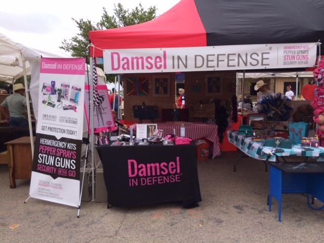 Damsel In Defense Booth
