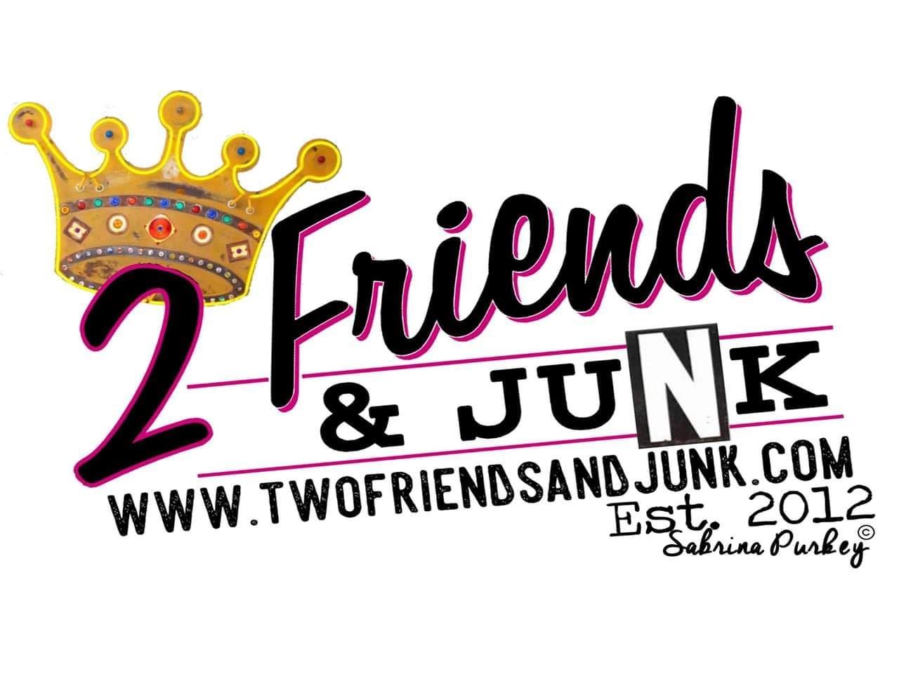 2 Friends & Junk logo
