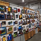 Display of images taken and submitted by exhibitors