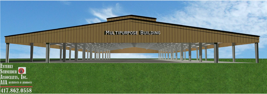 New Multipurpose Building Rendition