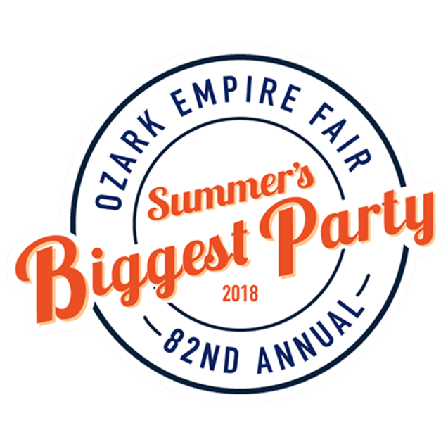 2018 Ozark Empire Fair Summer's Biggest Party Logo