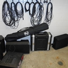 Sound system with organized cords