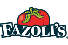 Fazoli's logo with red tomato