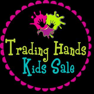 Black circle Trading Hand Kids Sale logo