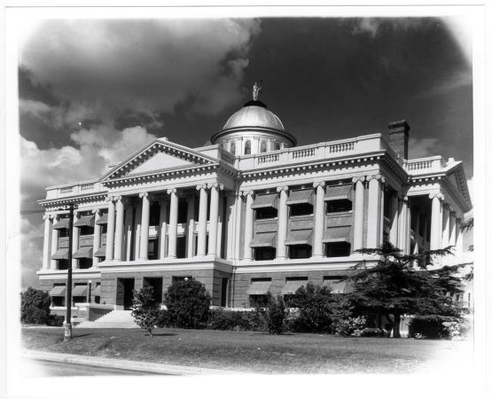 Fourth Courthouse in the 1950's