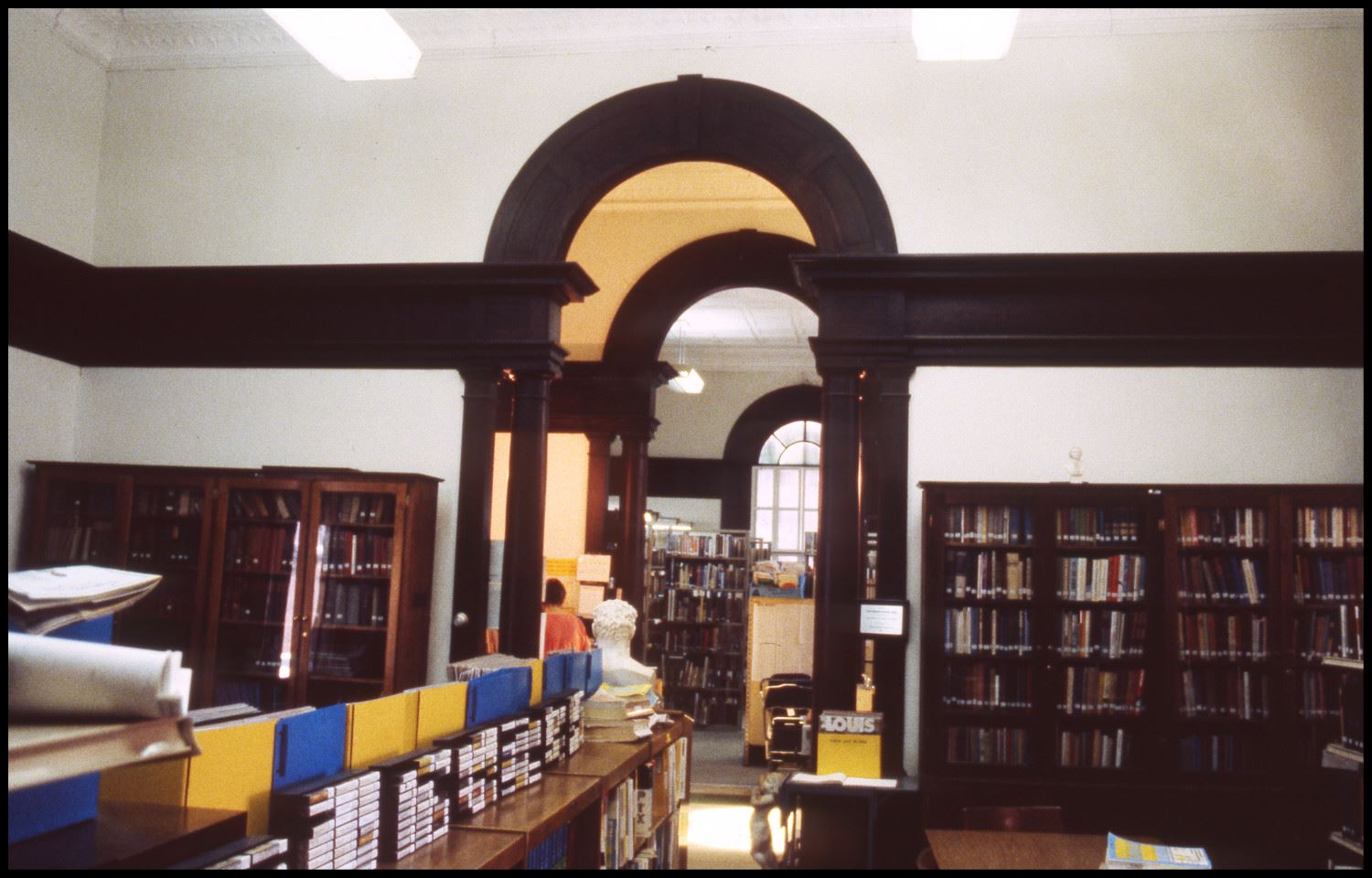 Interior of the Carnegie Library - 1970s