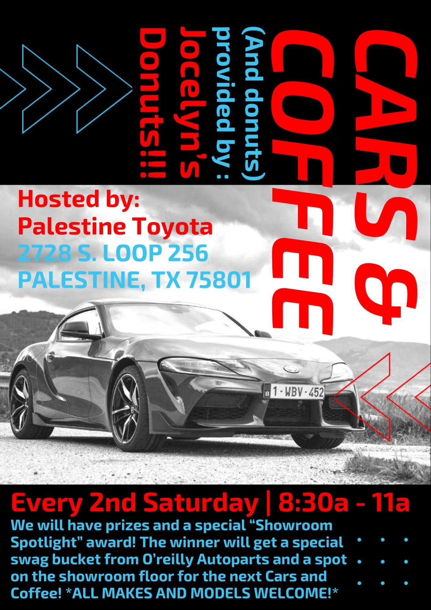 Cars and Coffee Poster