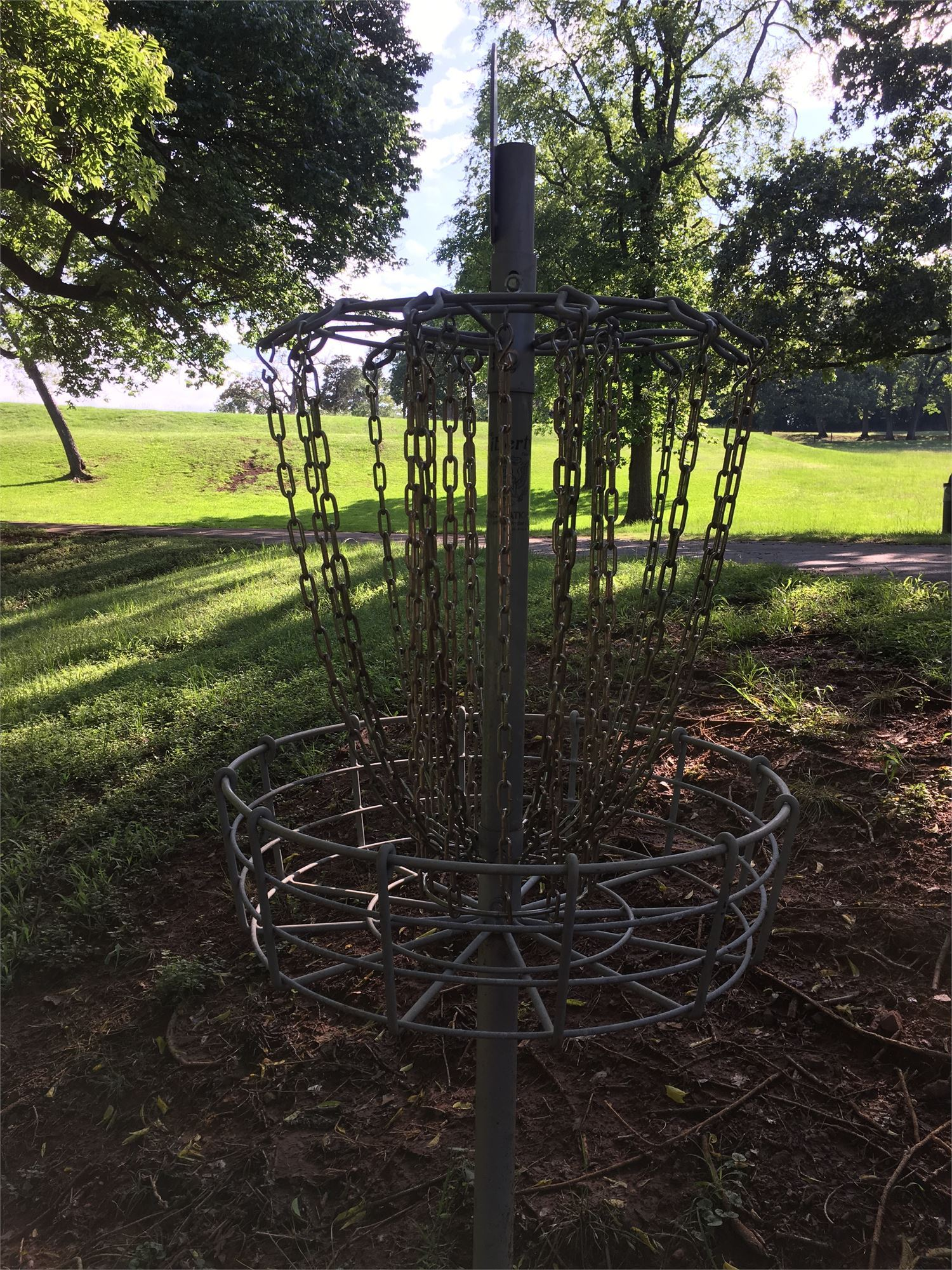 Disc Golf Course in Greens Park