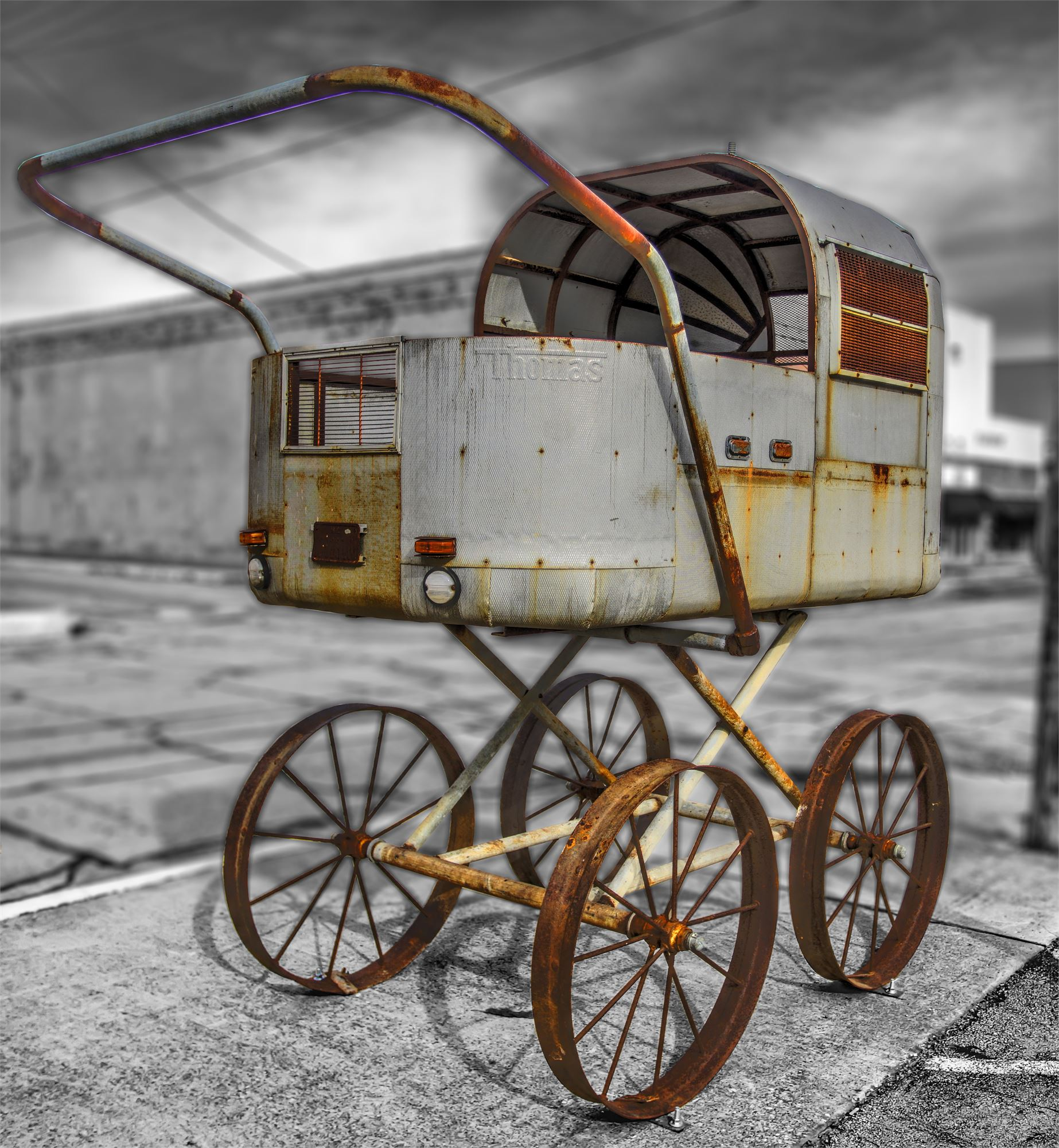 Airstream Baby Buggy
