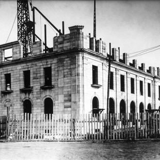 Construction of the Historic Federal Building