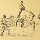 Untitled [Billy Freeman Breaking Horses]