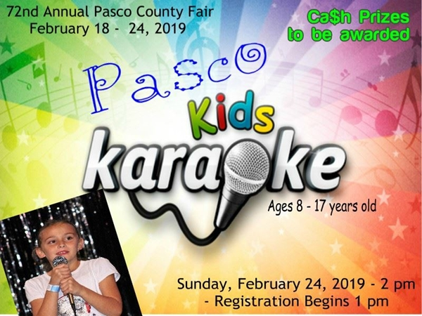 Kids Karaoke Contest 2019 (Sunday)