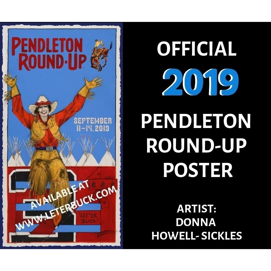 Limited Edition Autographed Jim Shoulders PBR Pro Rodeo Hall of Fame Poster