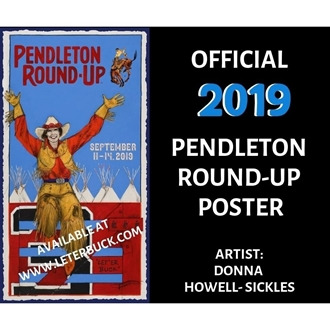 d319bbfb1d3c3 The Pendleton Round-Up is excited to announce the selection of cowgirl  artist Donna Howell-Sickles as its 2019 rodeo poster artist.