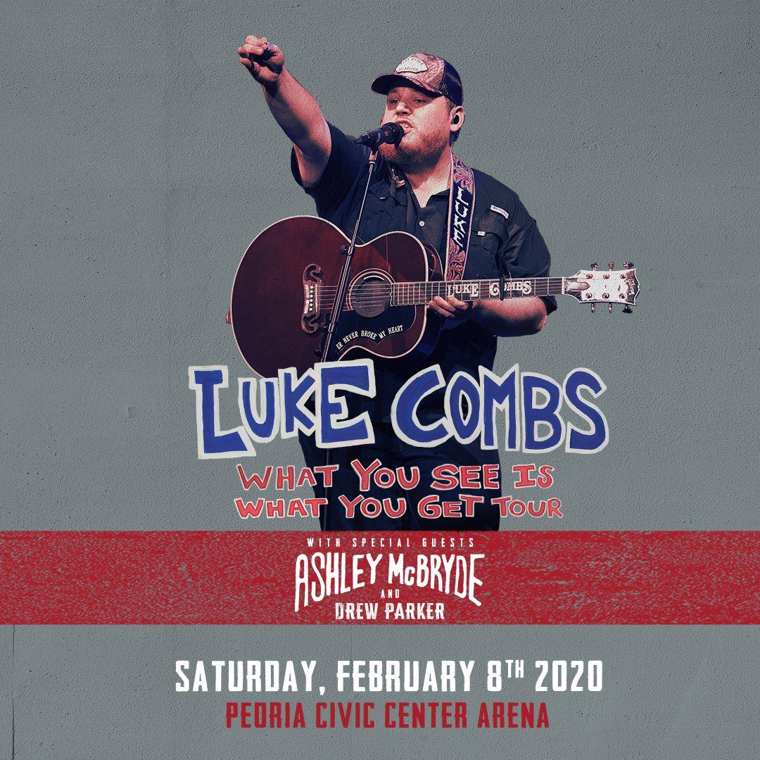 luke combs concert schedule 2020