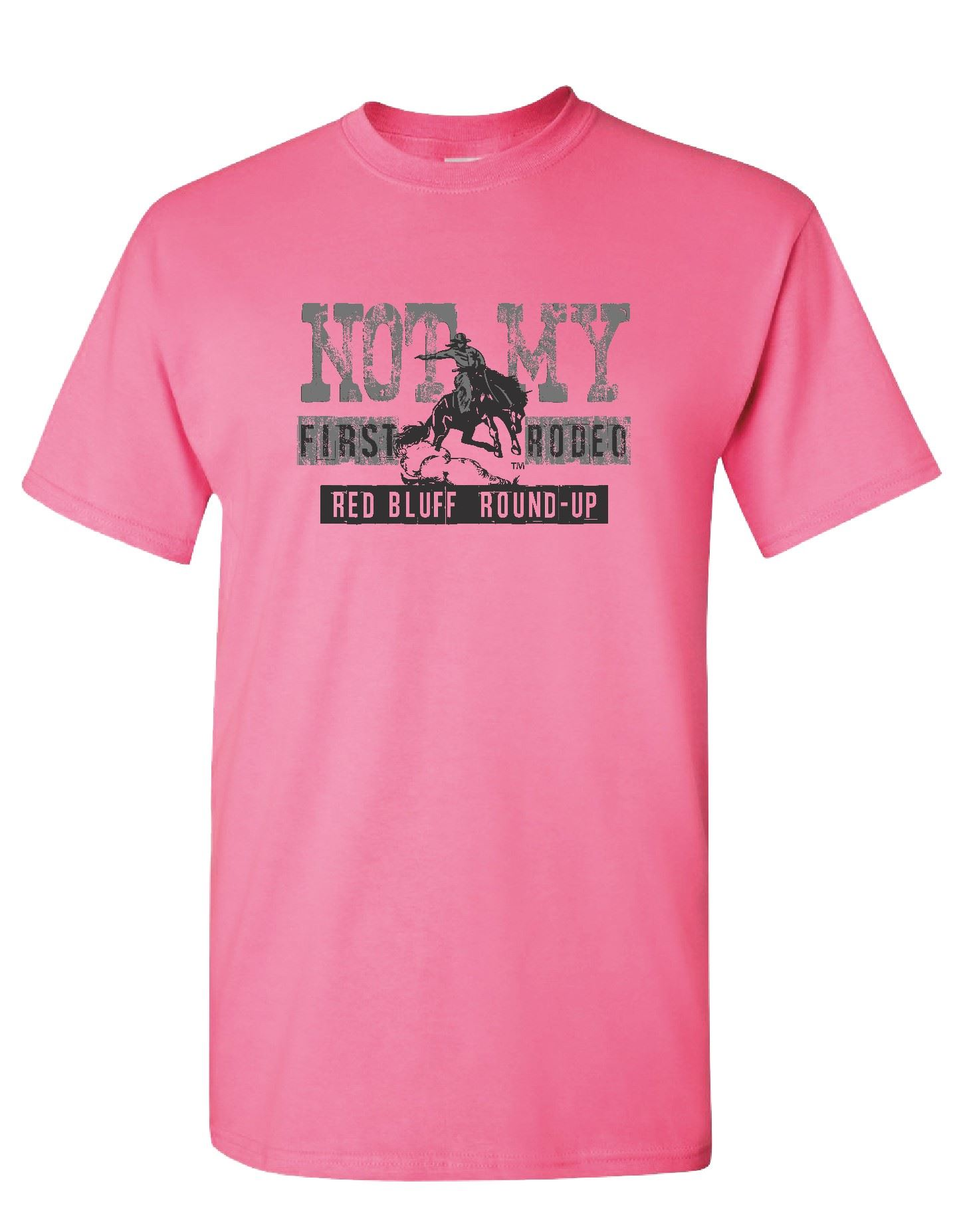 Not My First Rodeo - Pink Tee