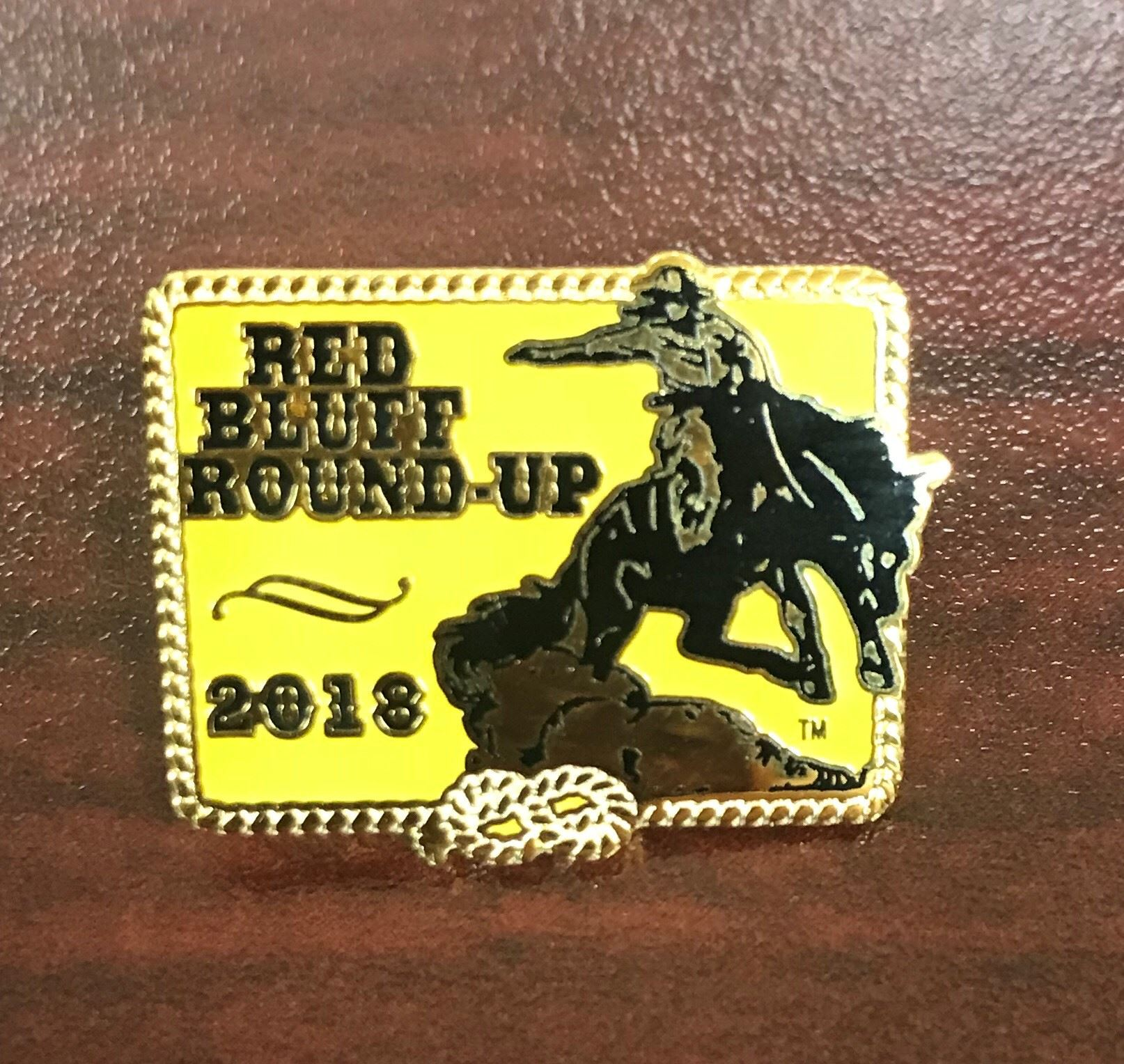 2018 Red Bluff Round-Up Lapel Pin