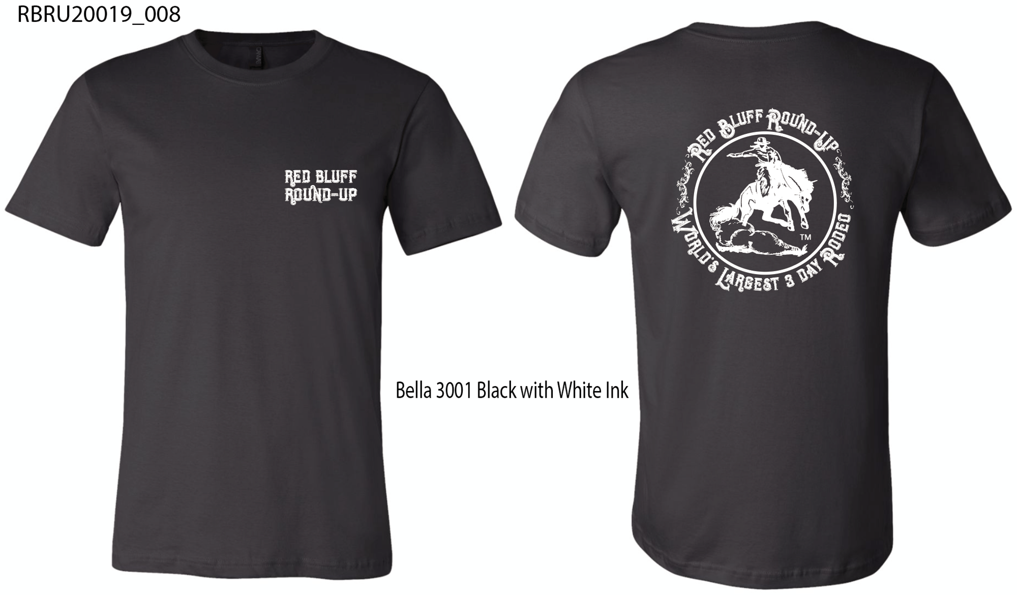 Largest 3-Day Rodeo - Tee