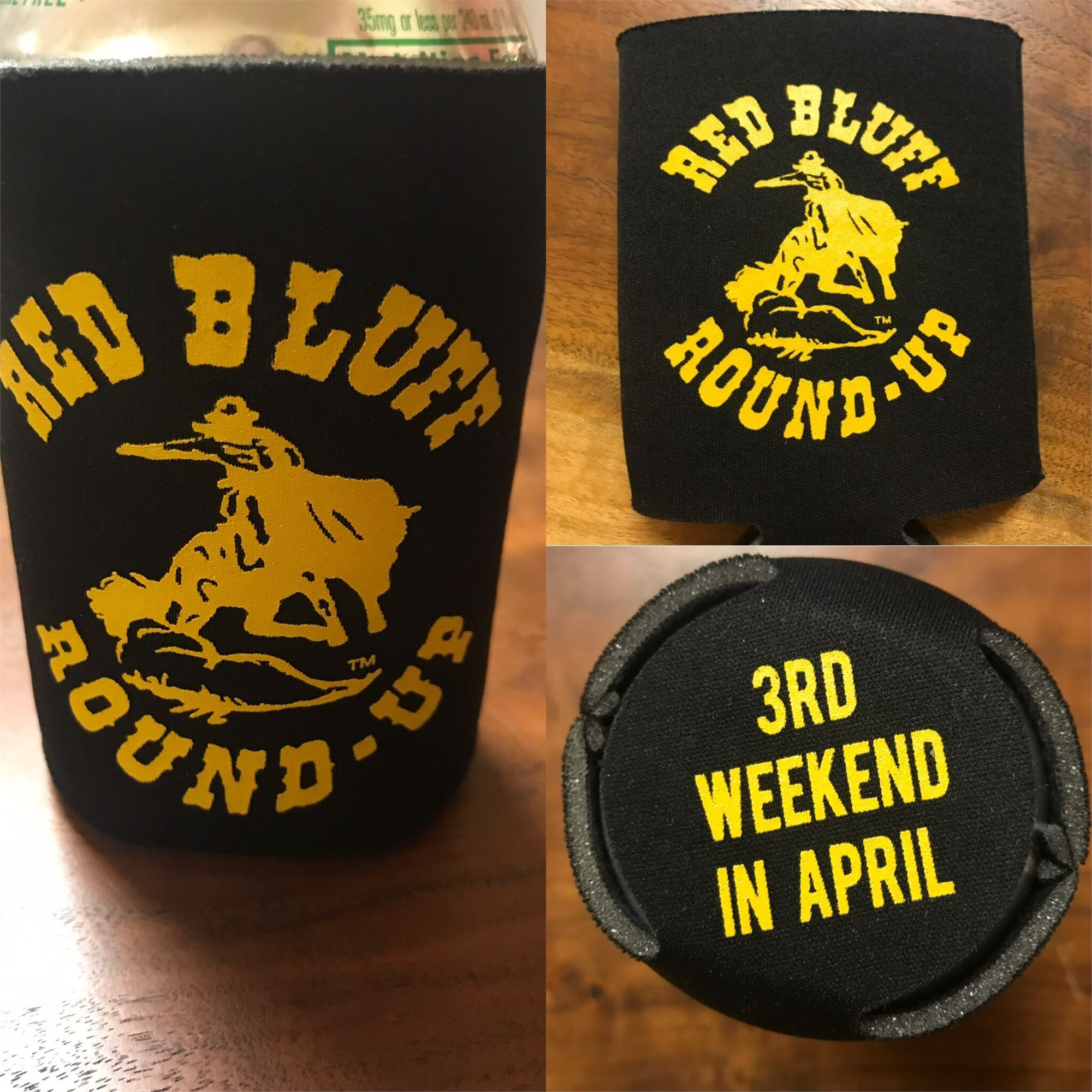 Red Bluff Round-Up Coozie