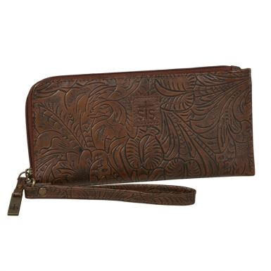 Wristlet Clutch - Chocolate