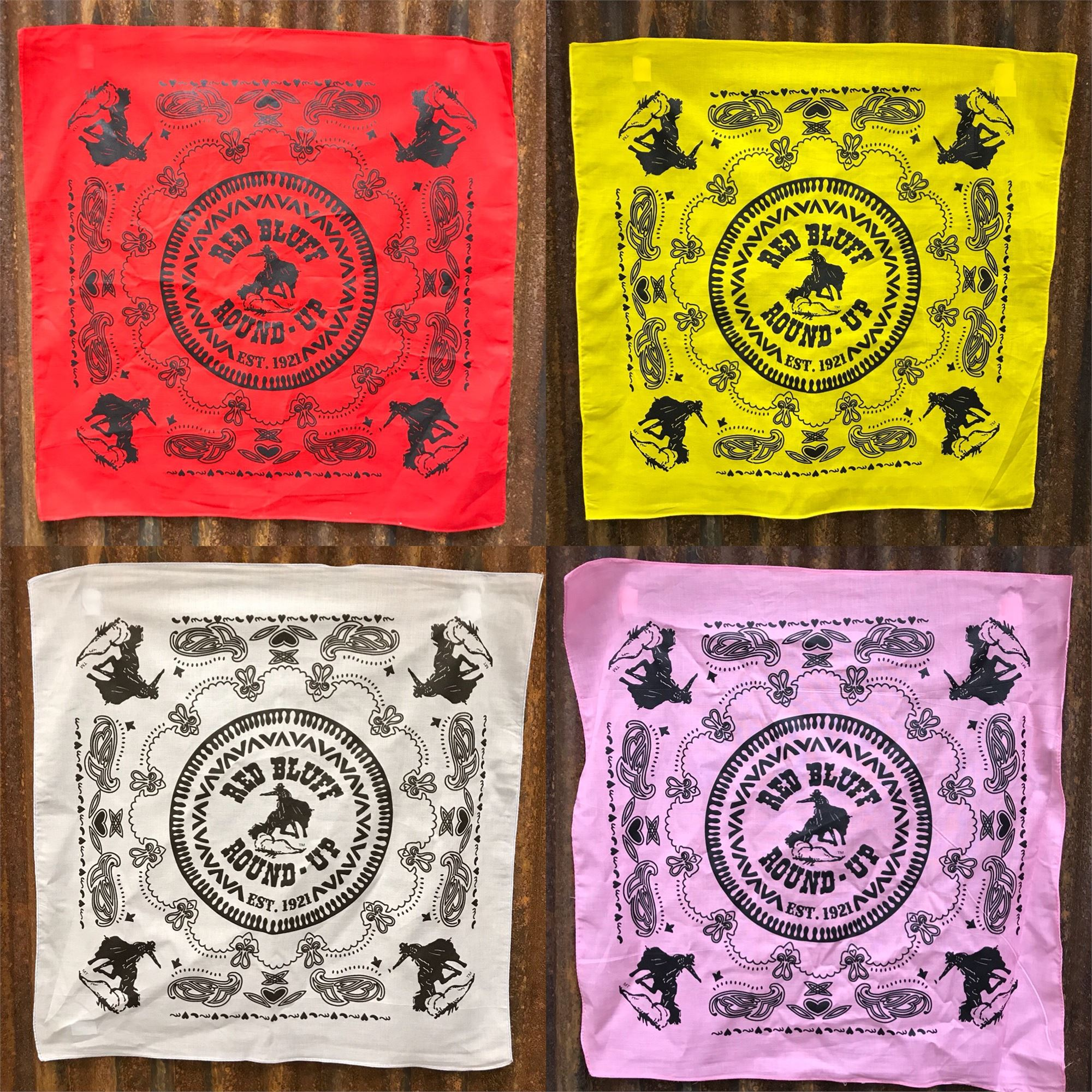 Red Bluff Round-Up Hankerchief