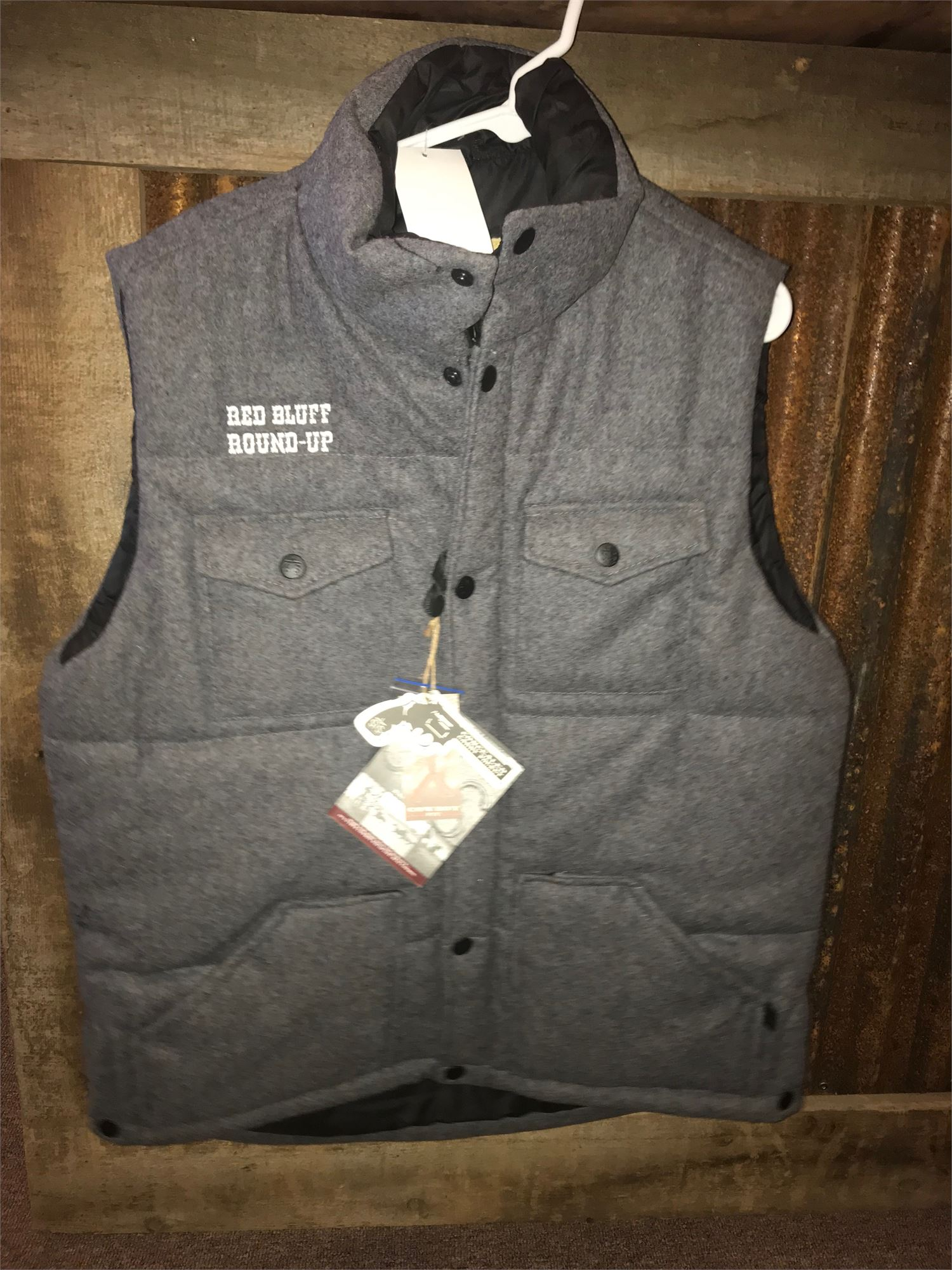 Puffy Wool Vest