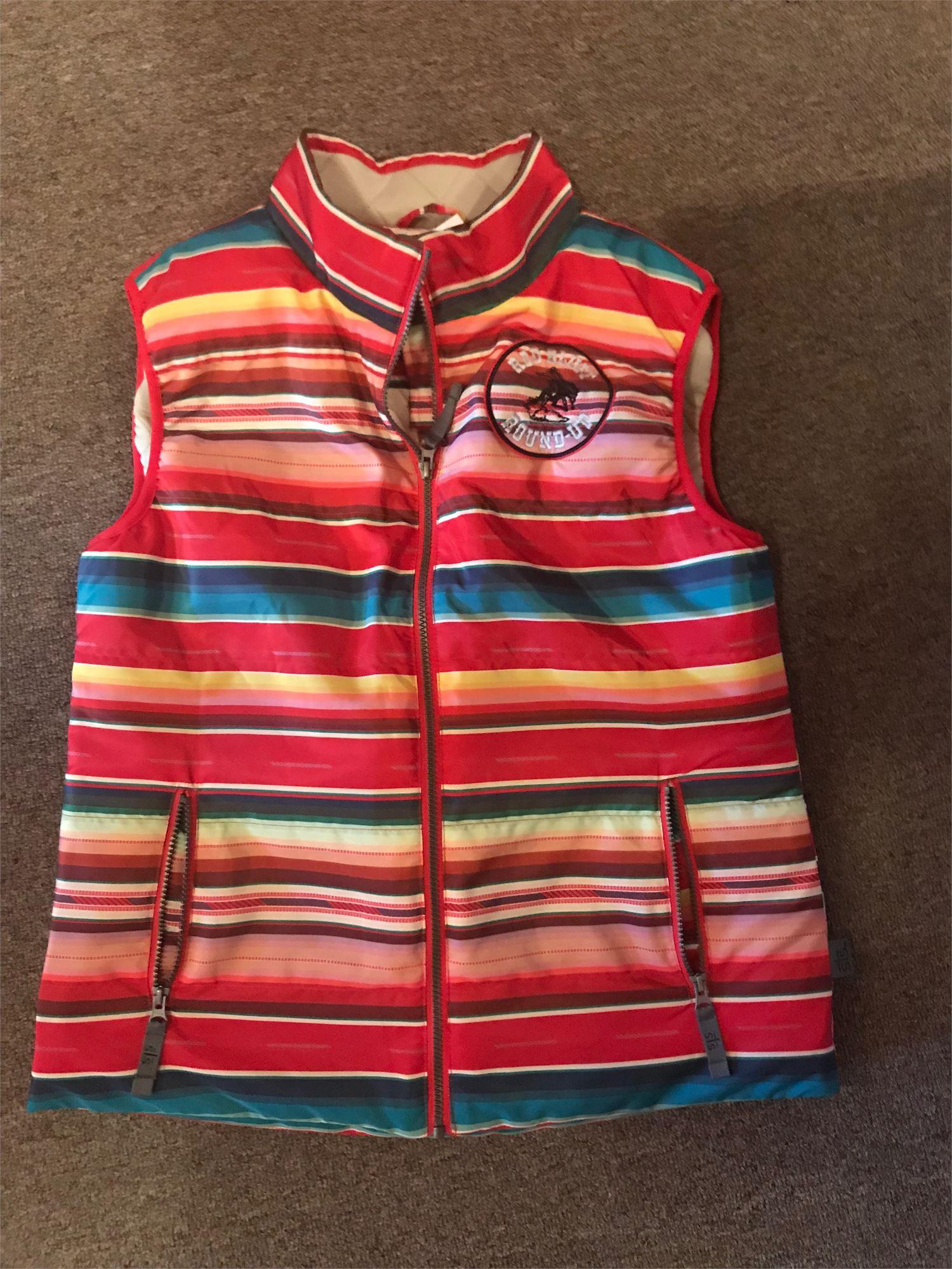 Ladies Striped Seely Vest