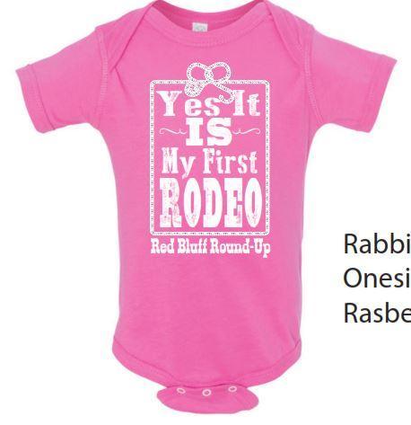 My 1st Rodeo Onesie