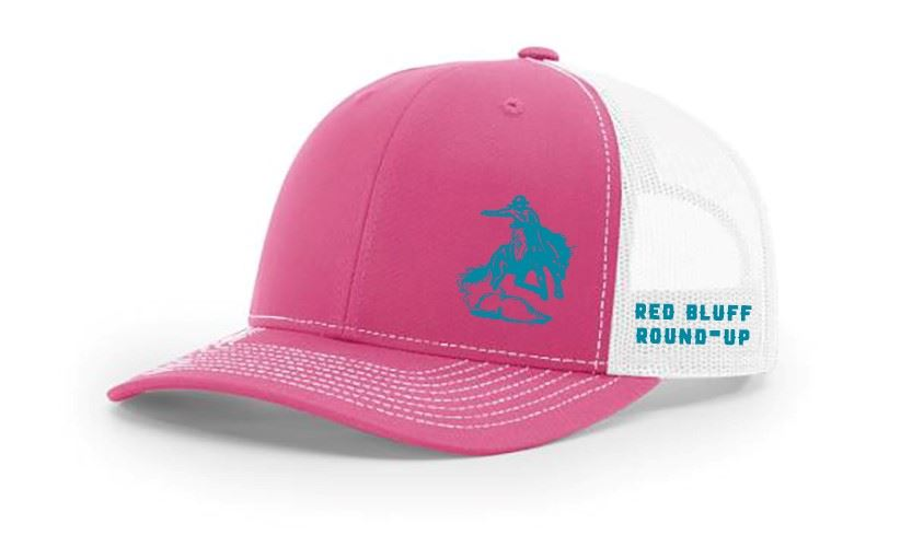 Pink and White Ballcap