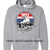 Gray Red/White/Blue Hoodie