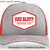 Red/Gray/White Patched Hat