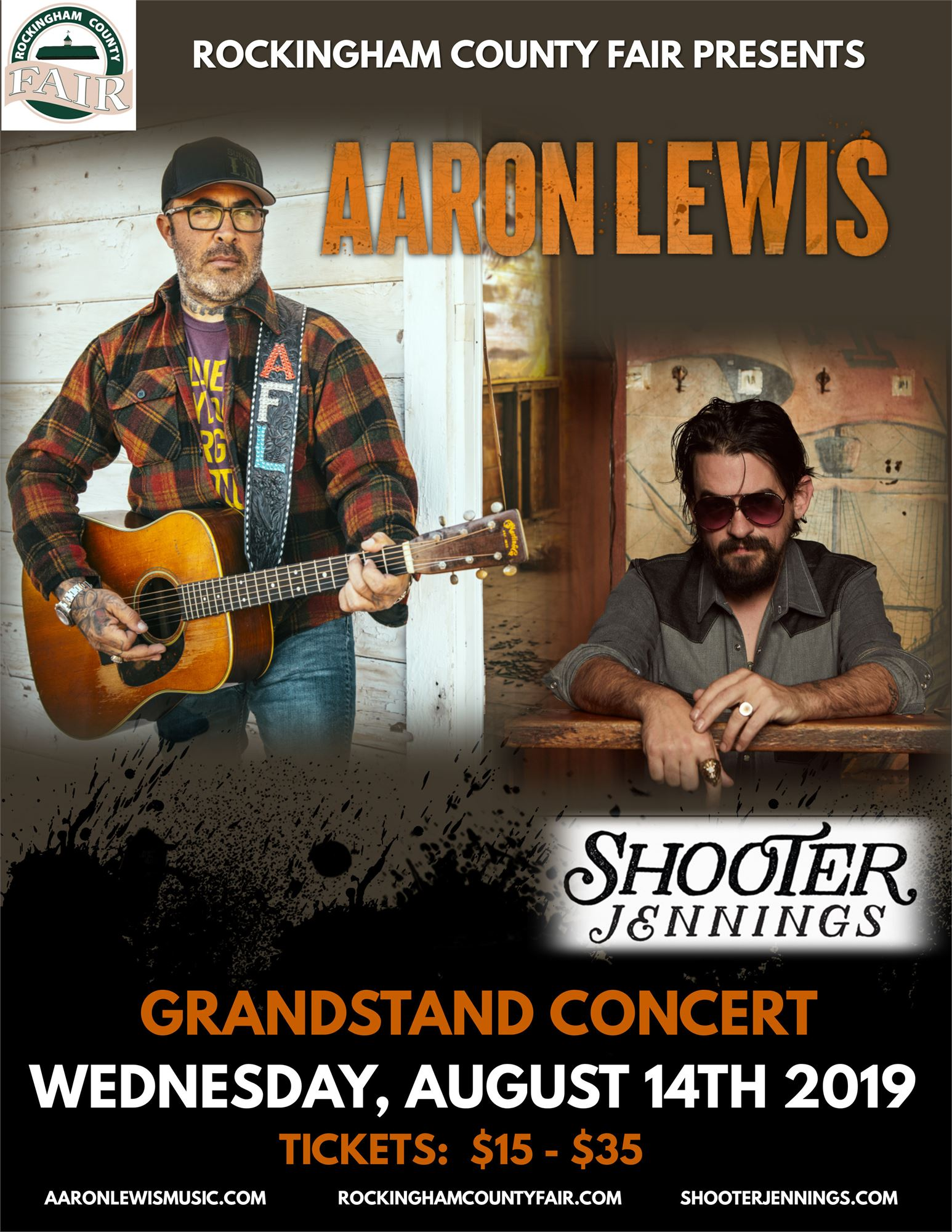 Aaron Lewis with Shooter Jennings