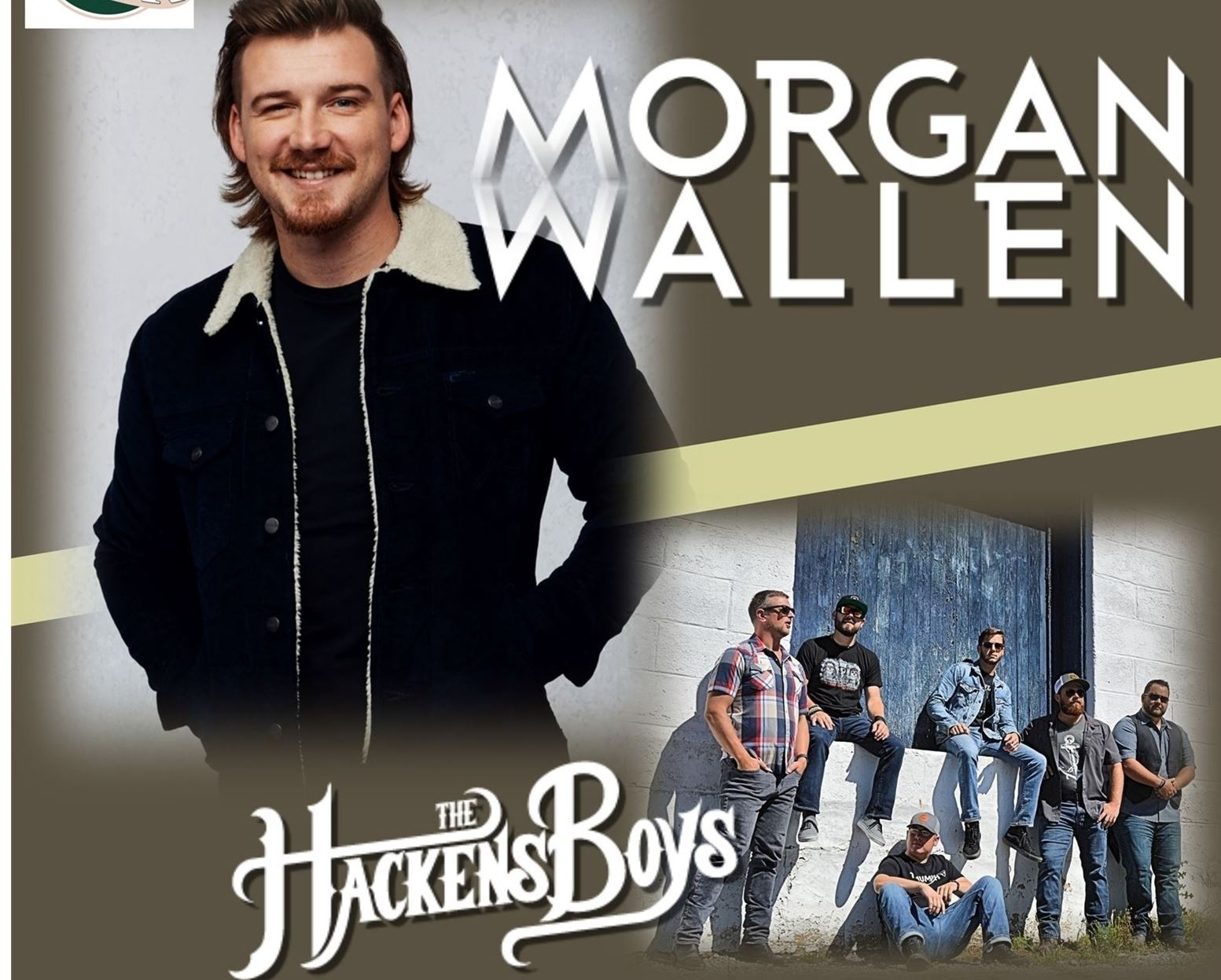 Morgan Wallen with Hackens Boys