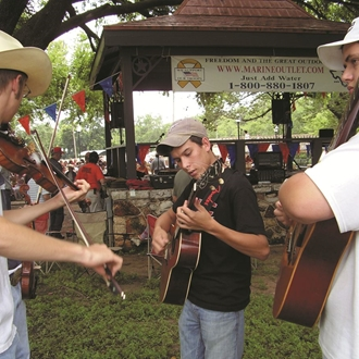 Festival on Nolan Creek