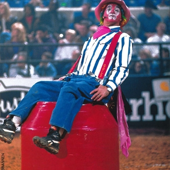 2018 Rodeo Clown & Barrelman