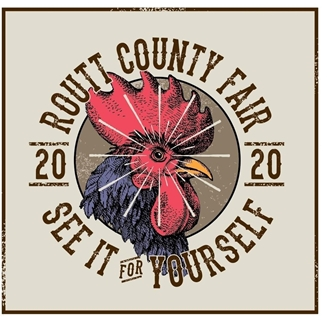 2020 Routt County Fair logo