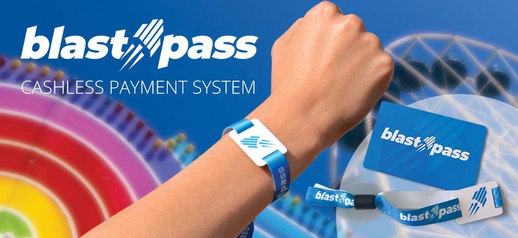 BlastPass RFID Cashless Payment System