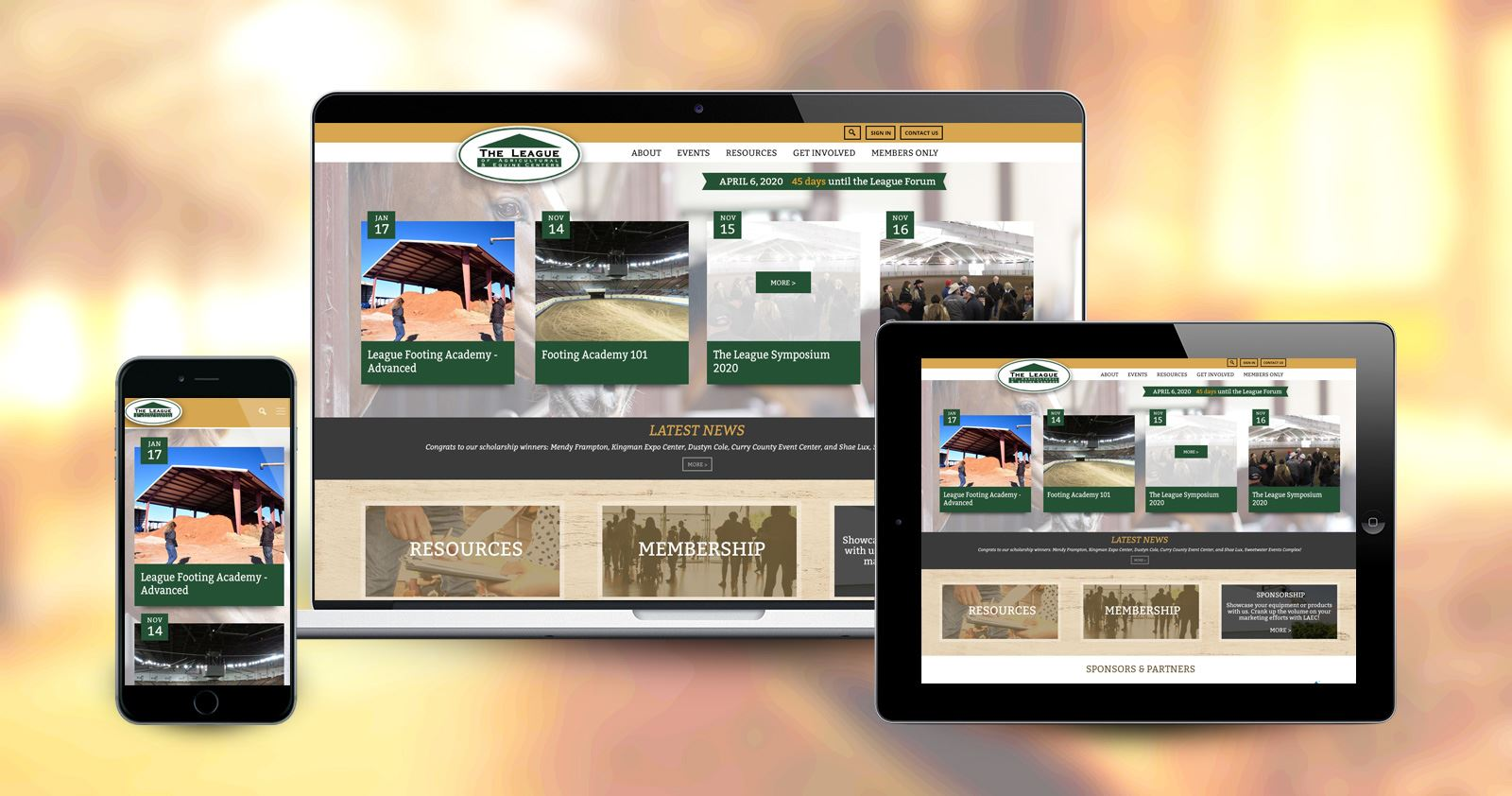 League of Agricultural & Equine Centers