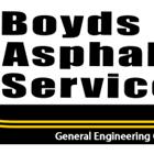 Boyd's Asphalt Services