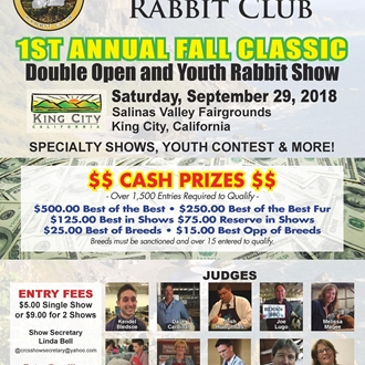 Central Coast Rabbit Show