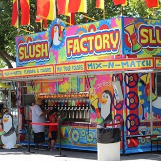 Thee Slush Factory at the Salinas Valley Fair