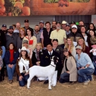 Heritage Foundation animal and buyers at the Junior Livestock Auction