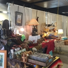A booth of antiques