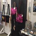 Leather bags and turquoise jewelry