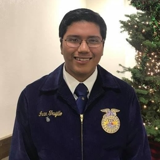 Ivan Trujillo - Heritage Foundation Scholarship Recipient