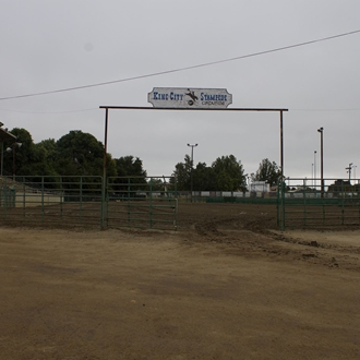 Entrance to the Stampede Arena