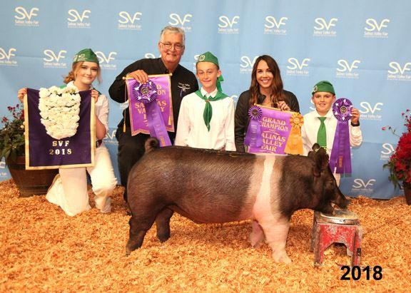 2018 Grand Champion Hog