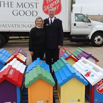 The Salvation Army to Receive Little Free Libraries for Placement at its DFW Centers